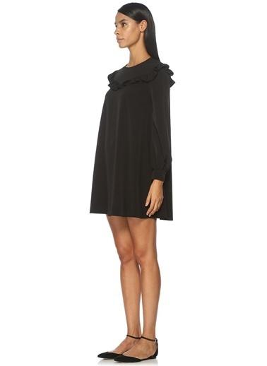 Fırfırlı Mini Elbise-Academia